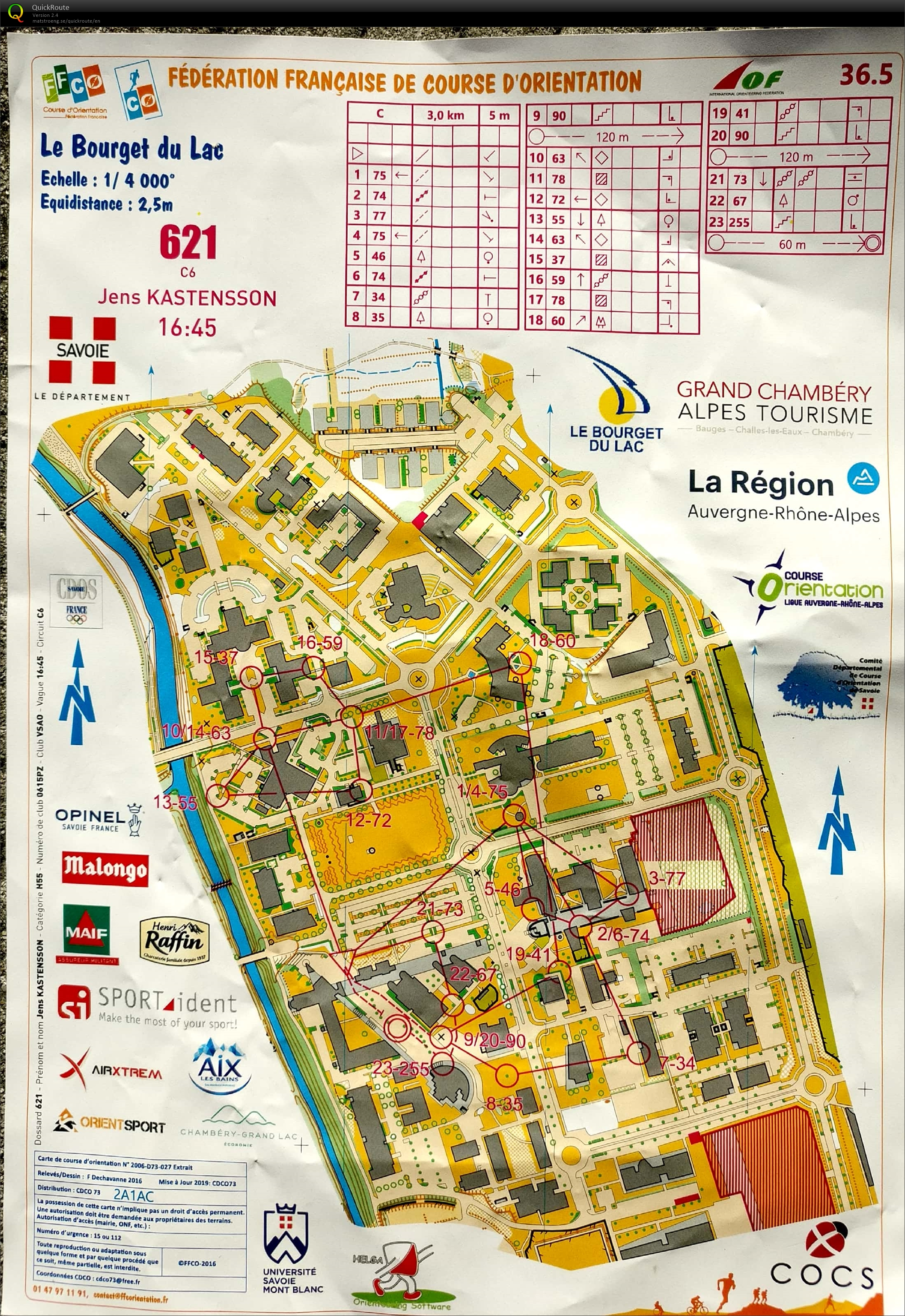 One-man relay Chambery (31/05/2019)